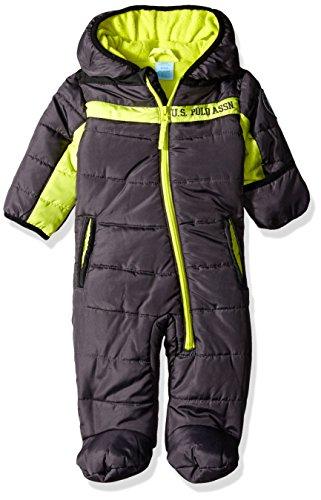 U.S. Polo Assn. Unisex-Baby   Schneeanzug  -  grau -  (Baby Us Polo)