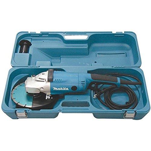 MAKITA GA9020RKD - AMOLADORA 230 MM 2200W 6600 RPM CON MALETIN PVC Y DISCO DE DIAMENTE SEGMENTADO