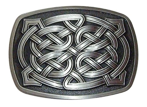 Spirit of Isis B121 Gürtelschnalle Celtic Knot Roundedge