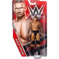 WWE BASE SERIE 75 wrestling action figure - Randy Orton 'The Viper ' GREZZA carta