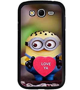 Printvisa Dwarf Monster With A Heart Back Case Cover for Samsung Galaxy Grand i9080:::Samsung Galaxy Grand i9082