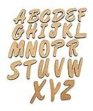 Holzbuchstaben Gesamtes Alphabet zum Lernen Spielen & Dekorieren 26 tlg.