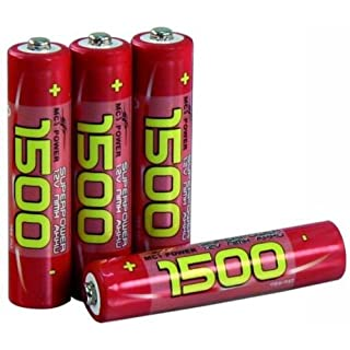 Micro Battery NiMH 1.2V 1500 NiMh Type AAA Pack of 4