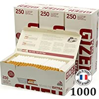 Caja de 250 tubos de Gizeh Silver Tip 4 x extra