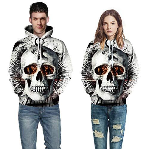 Günstige Halloween Ideen Für Paare - Halloween Skelett Kostüm Horror Herren Damen