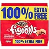 Jacob's Fig Rolls 200g + 100% Extra Free (400 Grams) Pack of 2