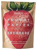 Dörrwerk - Fruchtpapier Apfel & Erdbeer Obstchips - 40g