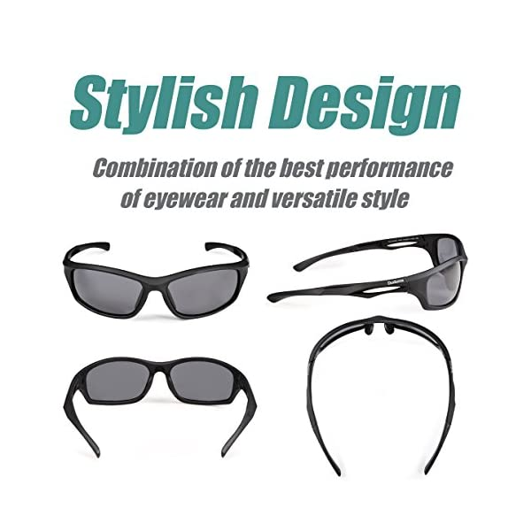 Duduma Polarised Sports Mens Sunglasses for Ski Driving Golf Running Cycling Tr90 Superlight Frame Design for Mens and Womens 2