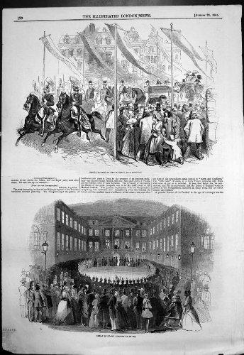 Antiker Druck des Bürgerkrieges in Chile-Feindseligkeiten an Valparaiso-Zündungs-Hafen 1891