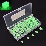 OriGlam gegenüber der besagten weichen kunststoff hell leuchten die perlen, plastik, ovale perlen runden perlen fischköder, grüne seefischerei perle angelausrüstung schwimmende instrumente, eier