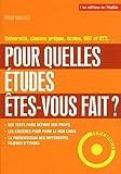 Telecharger Livres Pour quelles etudes etes vous fait (PDF,EPUB,MOBI) gratuits en Francaise
