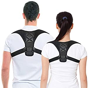 Women Posture Corrector Spinal Support - Back Brace Physical Therapy Posture for Men - Shoulder Neck Pain Relief Posture Trainer