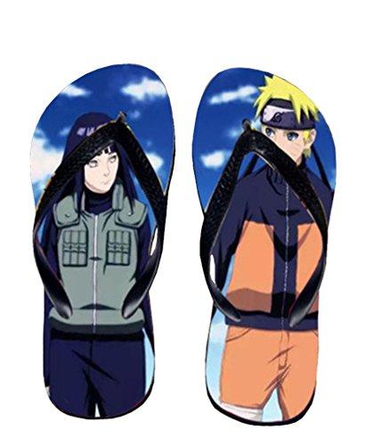 Bromeo Naruto Anime Unisex Flip Flops Zehentrenner Flip Pantoffeln 327