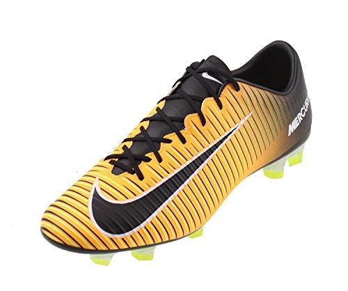 Nike Mercurial Veloce Iii Fg, Scarpe per Allenamento Calcio Uomo Arancione (Laser Orange/Black/White/Volt)