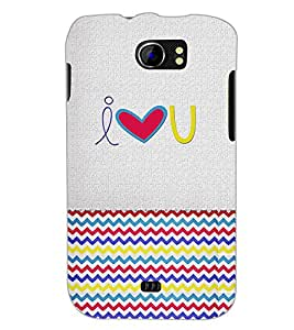 PrintDhaba quote D-4850 Back Case Cover for MICROMAX A110 CANVAS 2 (Multi-Coloured)