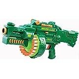Brigamo 470 - Elektrisches Gewehr Schnellfeuer Softdart Blaster Super Speed Hellfire inkl. Munition