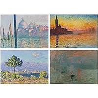 Set 4 Tovagliette Monet