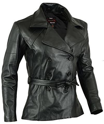 Womens Real Leather Coat Soft Lamb Skin Light Weight