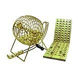Hot 1000918cm Metall Cage Bingo Set