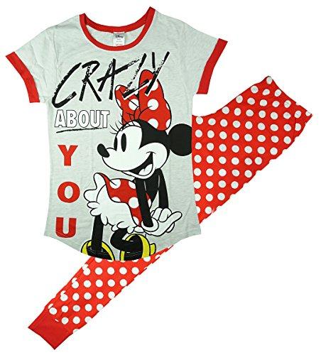 ey Minnie Mouse verrückt für dich Schlafanzüge Übergrößen from 8 to 22 - Mehrfarbig, Size 20-22 (Minnie Kostüme Ideen)