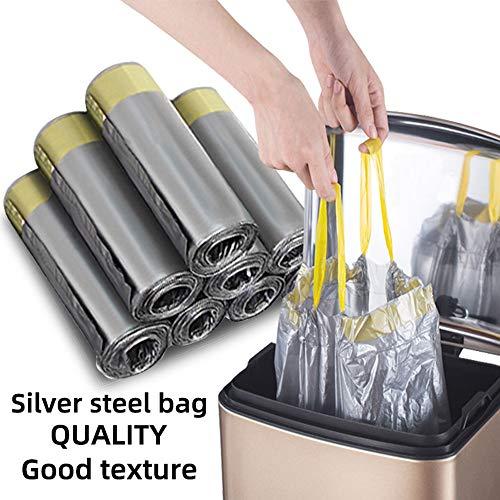 Madeb La Bolsa de Basura con cordón de es fácil de Usar, Limpia y se Puede Usar en Bolsas de Basura...