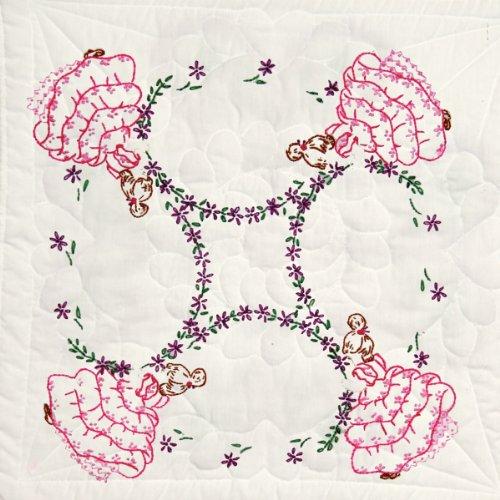Stamped Fairway Quilt Blocks 4, da donna, misure: 18 x 18, (confezione da 6)