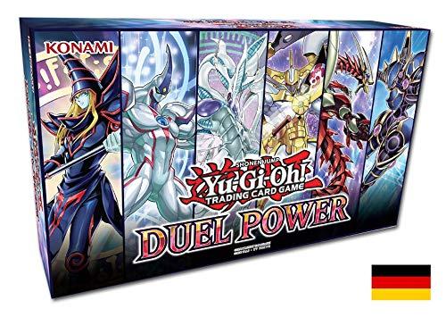 Yu-Gi-Oh! Duel Power Box 1. Auflage deutsch -