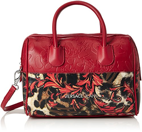 Versace Jeans Fall/Winter 2016 Borsa Messenger, 20 cm, Rosso-E500