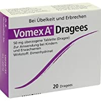 Vomex A Dragees 20 Stk
