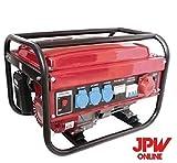 Générateur EK monophasique et triphasique à 4temps, à essence Rouge...