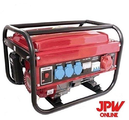 Generador eléctrico gasolina Trifásico Monofásico