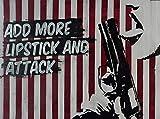 Original-Kunstwerk Malerei Acryl-Bild Wandbild Stencil