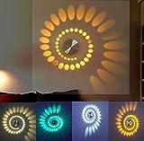 LED ganglichter Flur Eingang Kreative TV Rückwand Einfaches Licht 3 Watt Bunte verfärbung