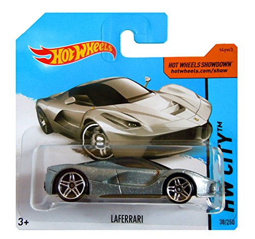 Hot Wheels - HW City - LAFERRARI FERRARI (Silver)