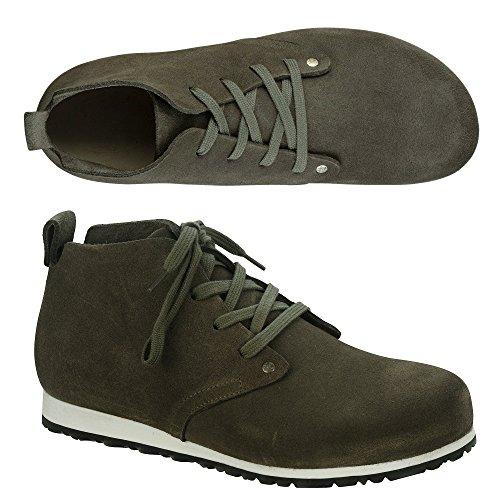 BIRKENSTOCK DUNDEE PLUS scarpe scarponcino polacchine plantare anatomico taupe/taupe