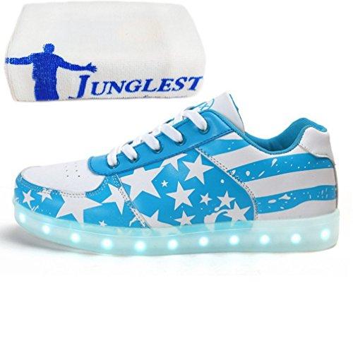 Leuchten Unisex Flagge present Star Luminous C27 Led Freizeitschuhe Usb Schuhe American Glow kleines Frauen junglest® Handtuch Männer Lade twqz1Z