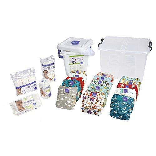 Bambino Mio, miosolo kit premium de la naissance à la propreté, mixte