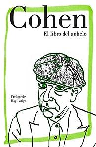 El libro del anhelo par Leonard Cohen