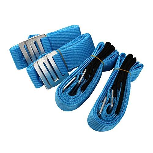ROKOO Zughilfen beweglichen Möbel, der Gürtel für Geräte Kühlschrank Waschmaschine Move Werkzeug blau