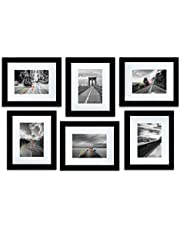 Art Street Decorative Set of 6 Individual Wall Photo Frame