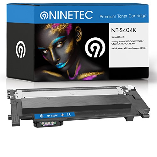 Preisvergleich Produktbild Original NINETEC NT-S404K Toner-Kartusche Black kompatibel zu Samsung CLT-K404