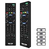 Grock RM-ED052 Fernbedienung kompatibler Ersatz für SONY SMART TV/HDTV/3D/LCD/LED, anwendungsflächen RM-ED053 rm-ed060, kdl-40 W905 a 46 W905 A KDL kdl-55 W905 a kdl-65 W855 a