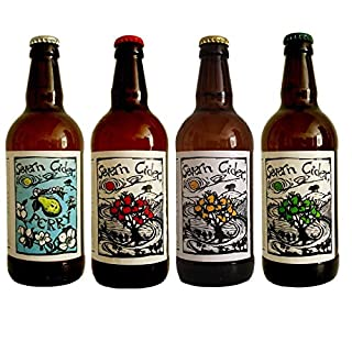 8 x 500ml bottle case of mixed Severn CiderCiders and Perry