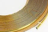 GOLD Chrom Zierleiste 6mm x 15m selbstklebend universal Auto Goldleiste Kontur