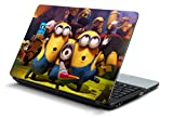 #10: Namo Art Laptop Skins 15.6 inch Stickers for All Laptop - Notebook HQ1056 Happy Minions