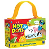 Learning Resources Hot Dots Jr. Beginning Phonics Card Set