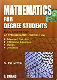 Mathematics for Degree Students for B.Sc. 2nd Year