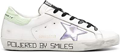 Golden Goose Luxury Fashion Donna GWF00101F00098310459 Bianco Pelle Sneakers | Ss21