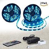 LED Stripes 10 m Streifen | Led Lichtleiste rgb led Strip 300 LED Wasserdicht | Lichterband mit Fernbedienung | Perfekt für den Innen- und den Außenbereich | Dekoration mit indirekter Beleuchtung