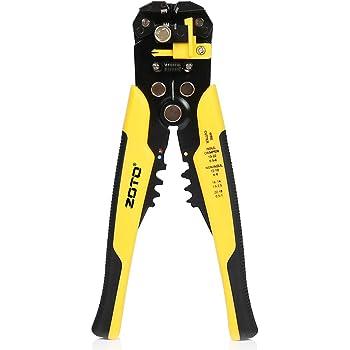 Red /& Black Hilka Tools 23555026 Automatic Wire Stripper /& Crimper
